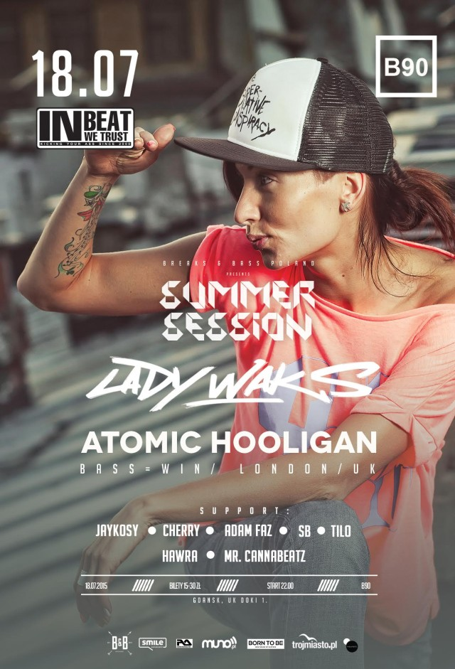 Breaks Bass Poland Summer Break Lady Waks